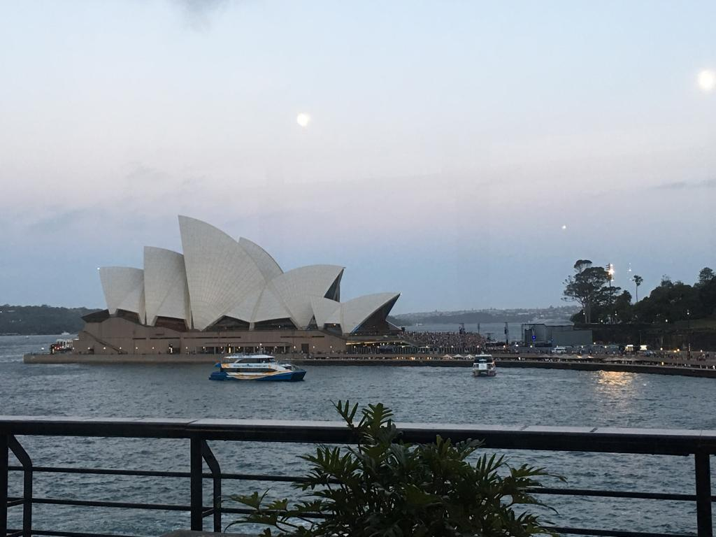 The famous Sydney Opera House