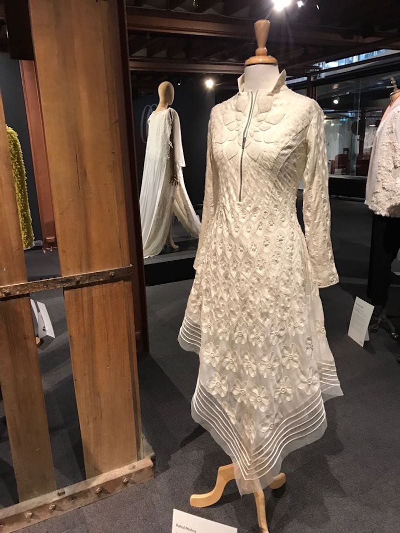 A gorgeous outfit by a Pakistani designer