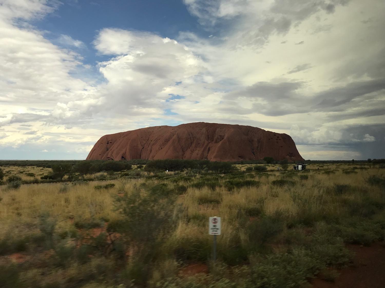 This is Uluru rock