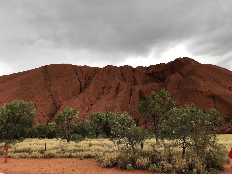 Close ups of Uluru