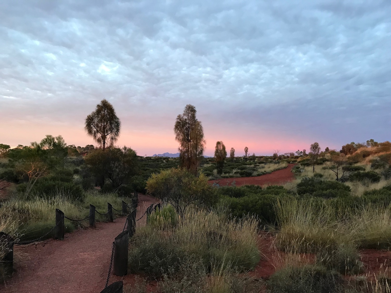 First Uluru sunset