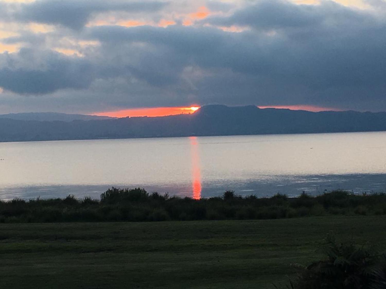 Incredible sunset at Lake Taupo
