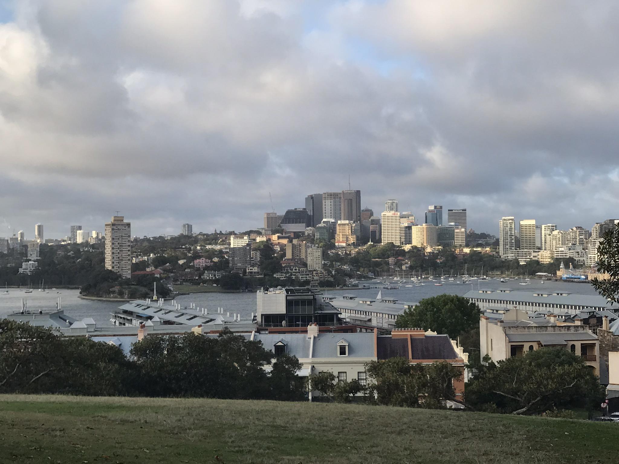Twilight in Sydney