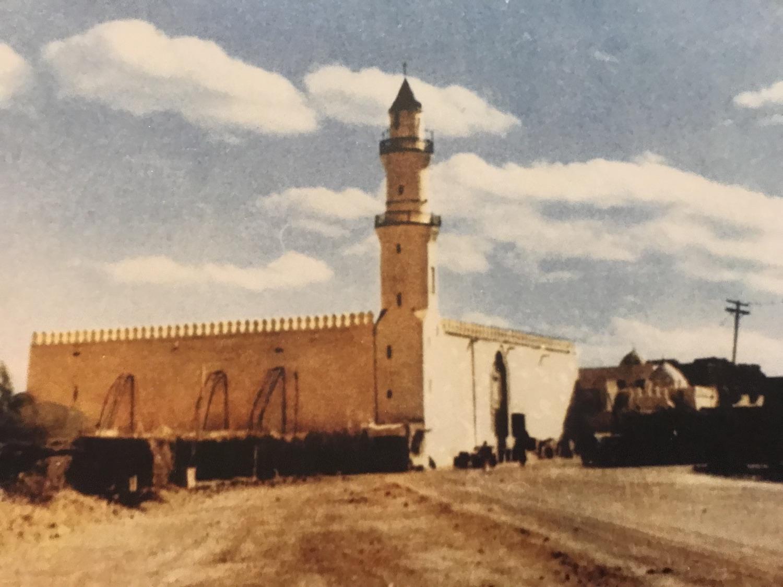 Al-Quba Mosque in 1908