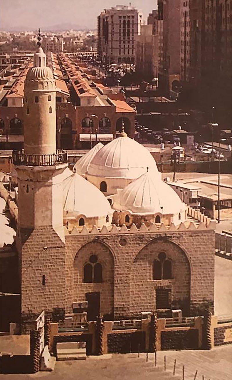 Al-Ghamama Mosque as it was in Ottoman rule 1861