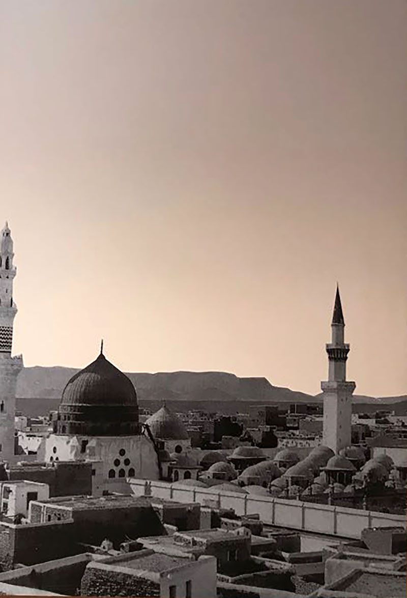 The Prophet's Mosque, 1907