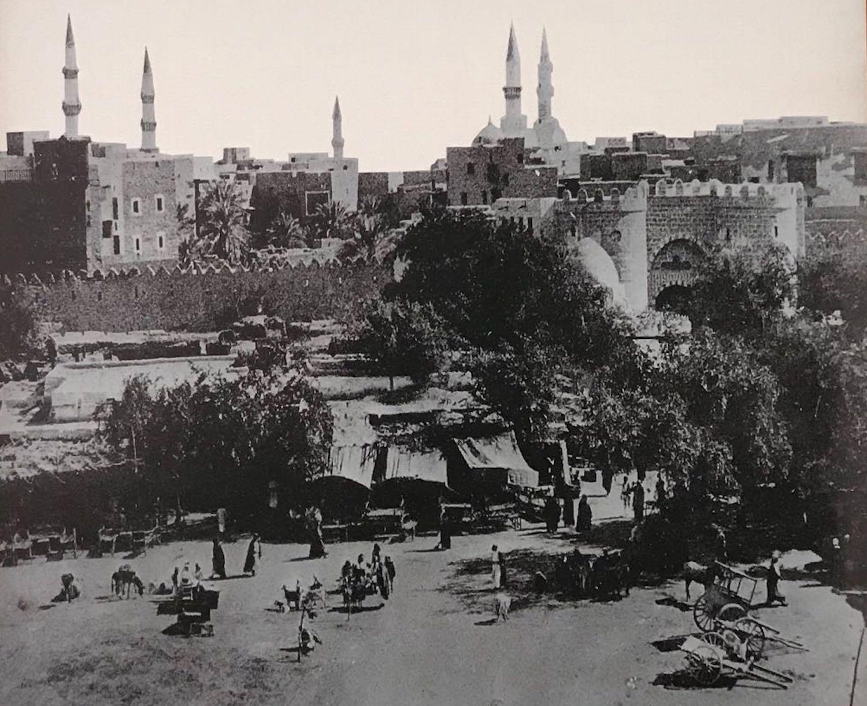 Al-Madina in 1908 AD
