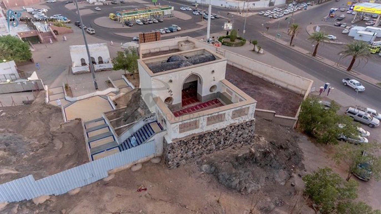 An Aerial veiw of Al-Fatih Mosque
