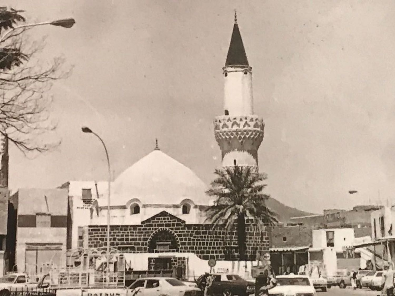 Abu Bakr Mosque, rebuilt in 1838 by the Ottomans