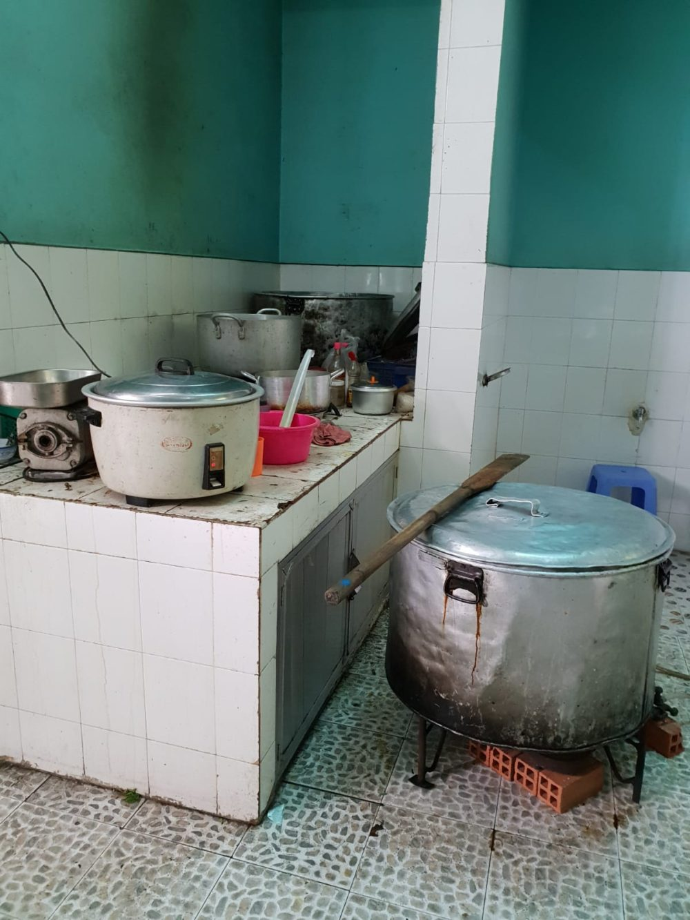 The kitchen of the mosque