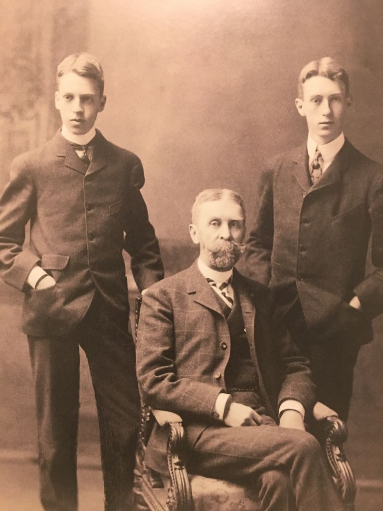 Duncan and Jim Phillips with their father