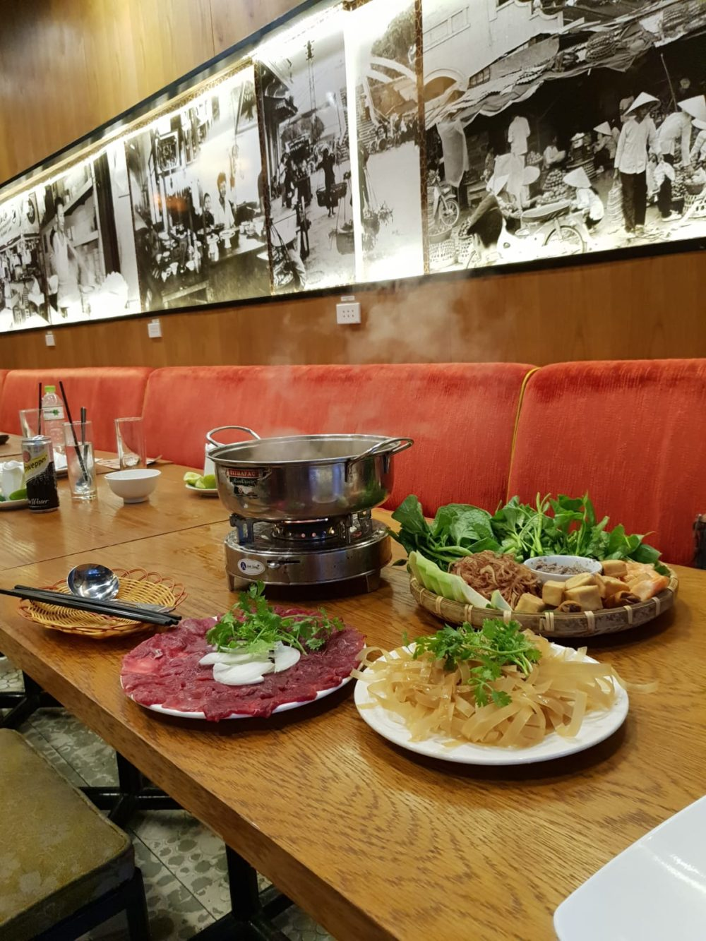 The feast of small dishes