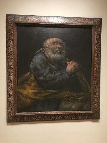 De Goya The Repentant St.Peter