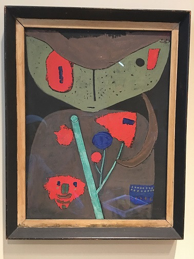 Klee Figure Of The Oriental Theater