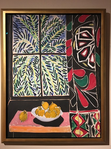 Matisse Interior with Egyptian Curtain
